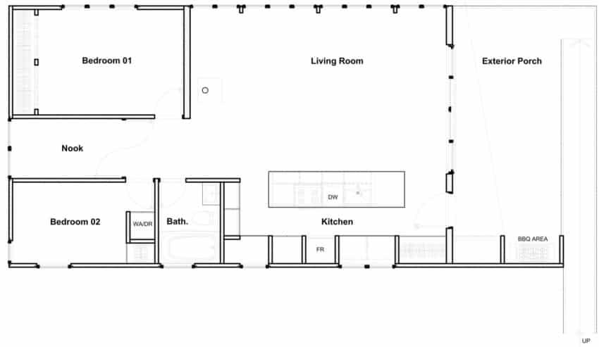 Cross-Laminated-Timber Cottage by Kariouk Associates