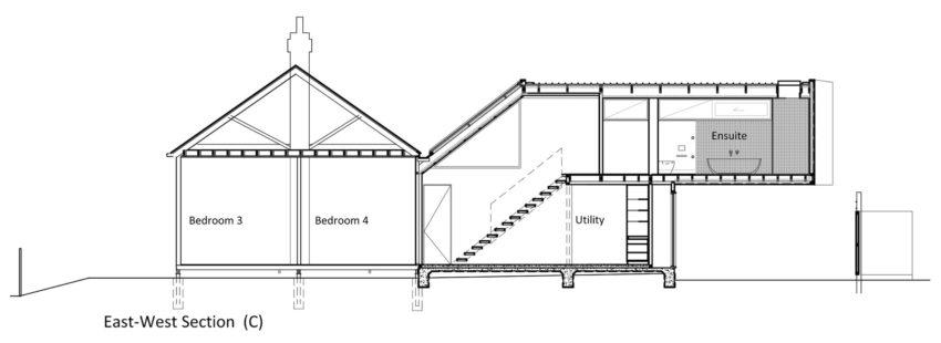 Fenwick Street House by Julie Firkin Architects