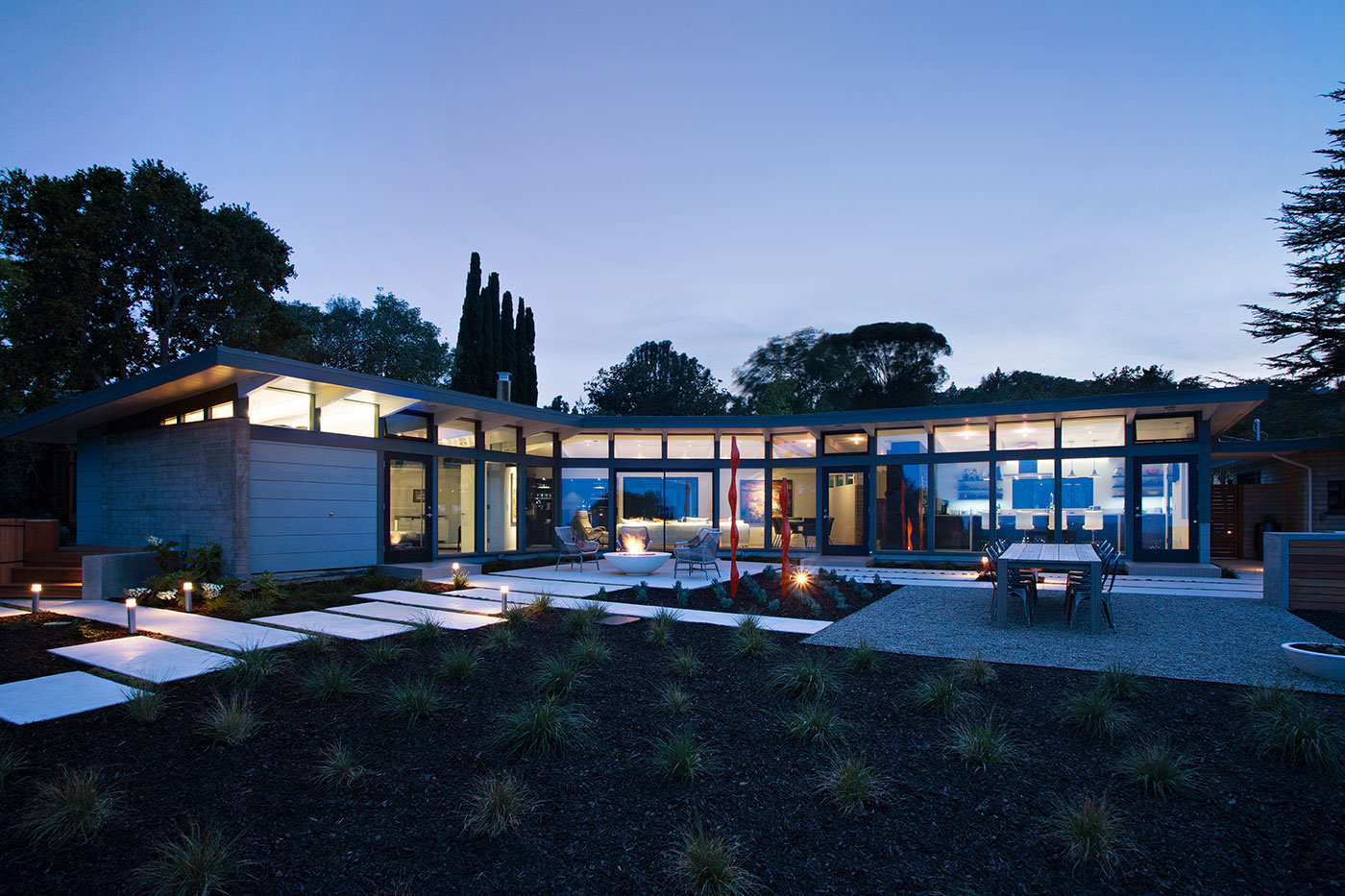 Mid Century Modern View House Remodel By Klopf Architecture