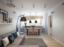 Apartment in Moscow by Geometrium