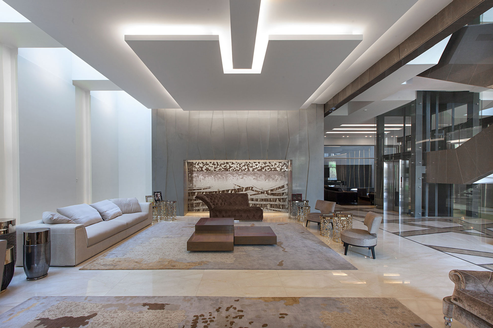 Unique Contemporary Home in Kuwait City