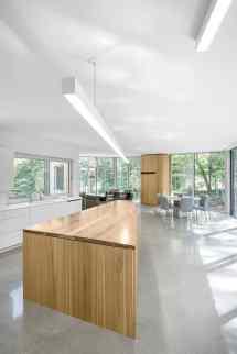 Paul Bernier Architecte Remodel House Surrounded Lush