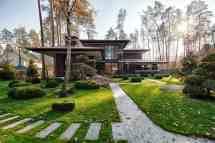 Architecture Prairie Style House