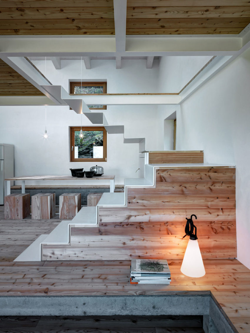 Alfredo Vanotti Creates a Home in Piateda Italy that