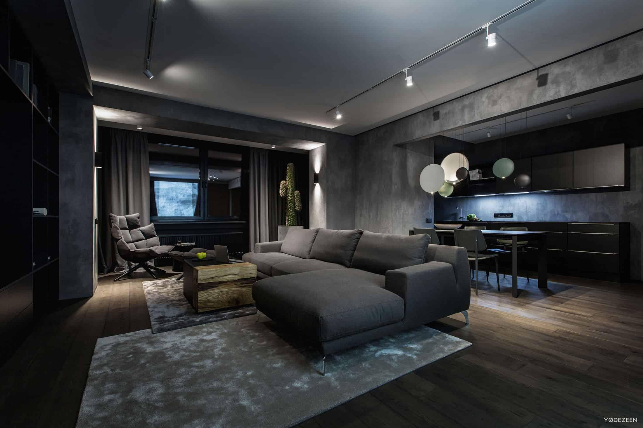 A Modern Home Interior in Kiev Ukraine