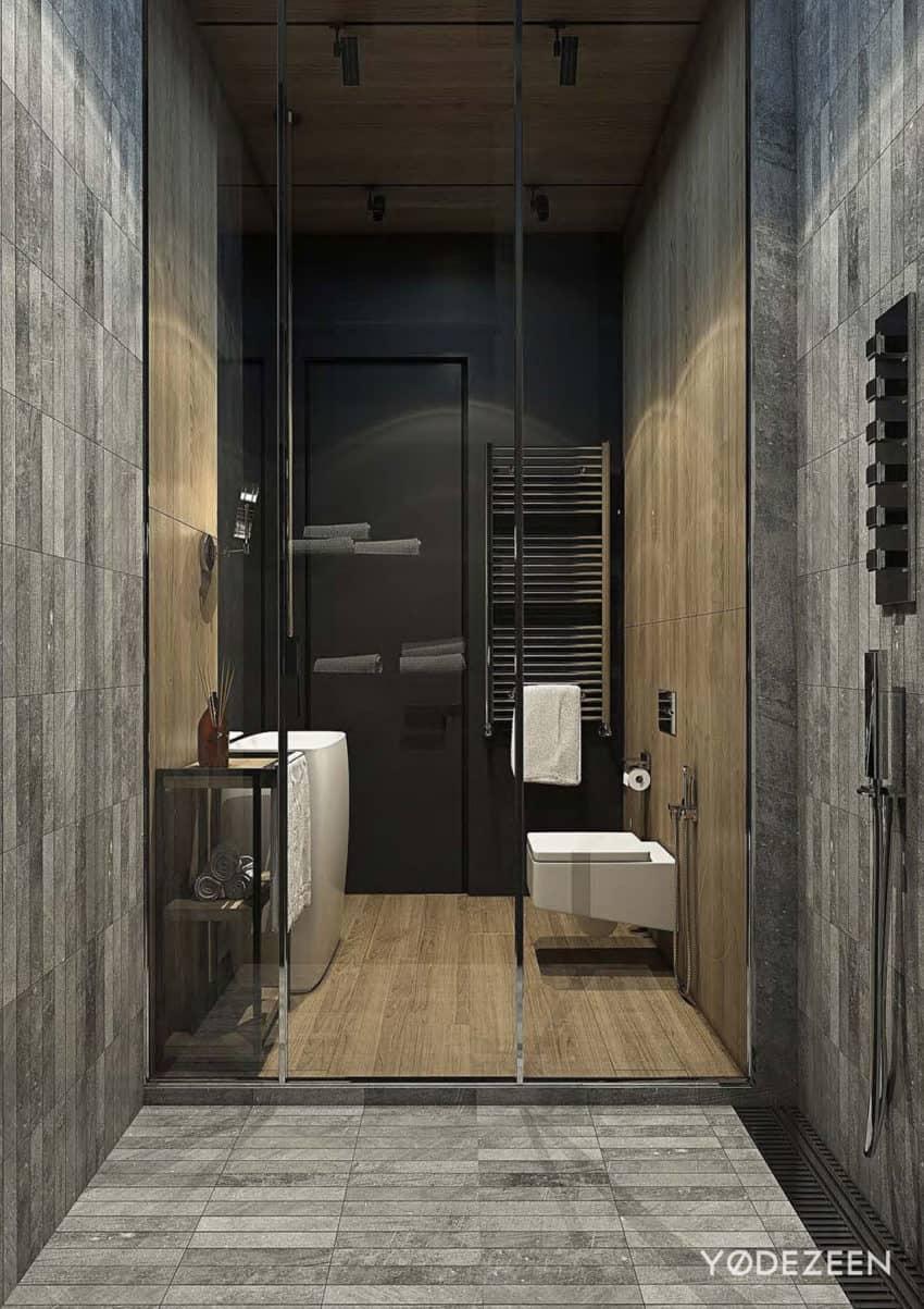 Yodezeen Designs a Modern Residence in Tbilisi Georgia