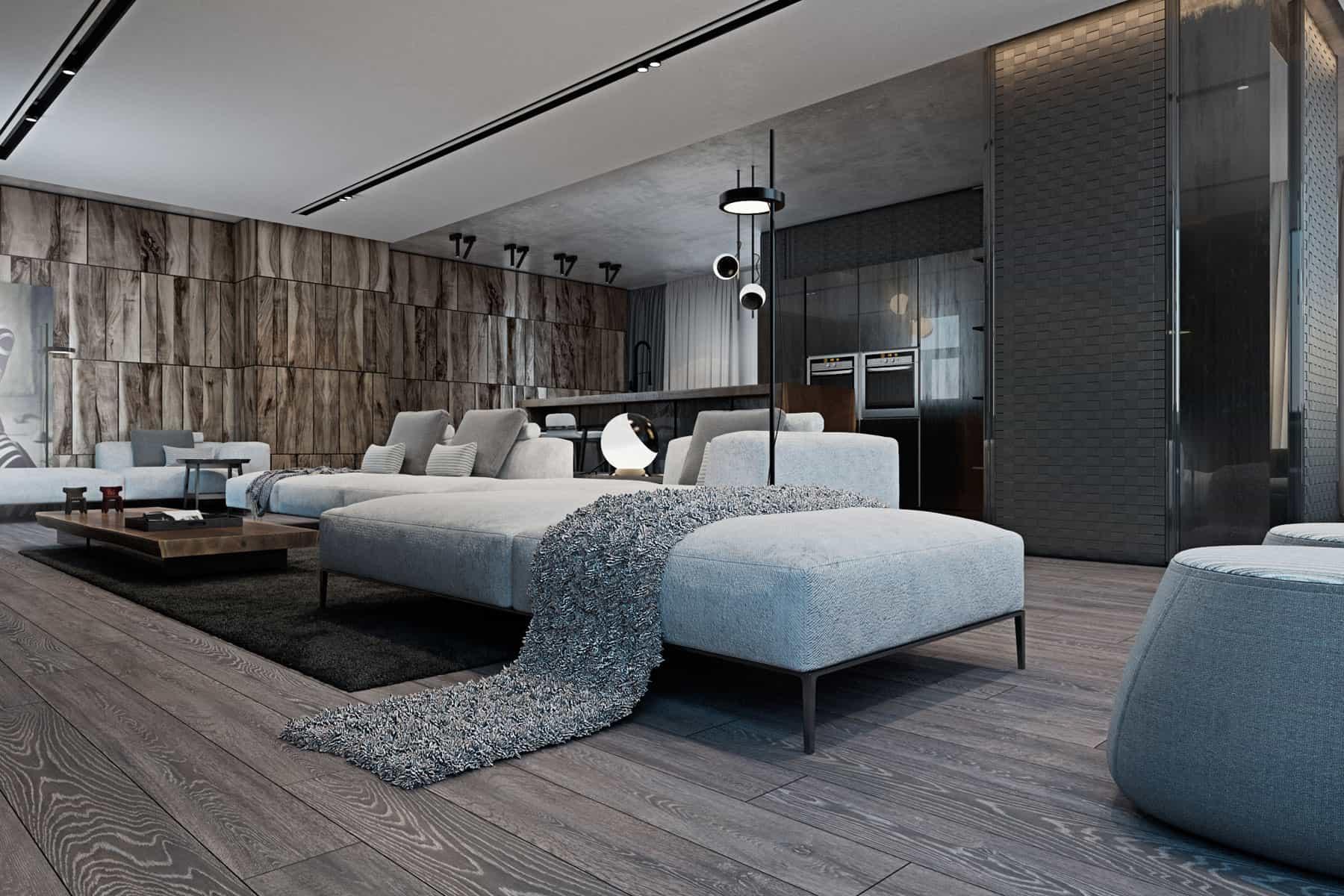 Iryna Dzhemesiuk Designs A Cozy Apartment In Kiev, Ukraine