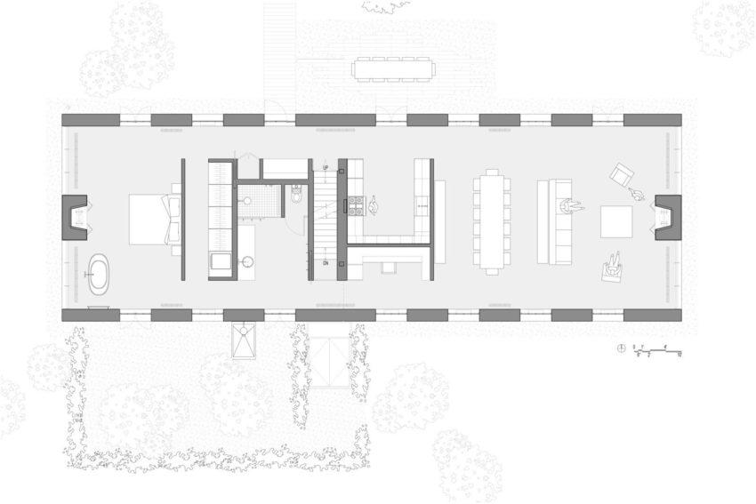 TA Dumbleton Architect Turns a Former Farmhouse into a
