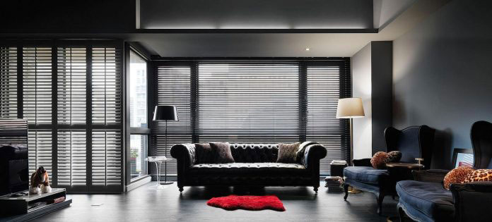 33 Kinds of Joys of Life darken theme flat 01 Taipei Base Design Center Designs an Apartment in Taipei City for a Young Couple