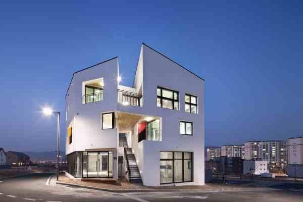 Architecture Refurbish Building In Ulsan South Korea