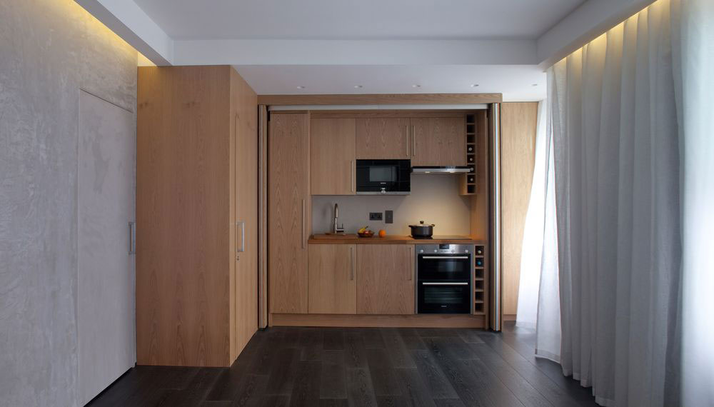 Small Modular Apartment in London England