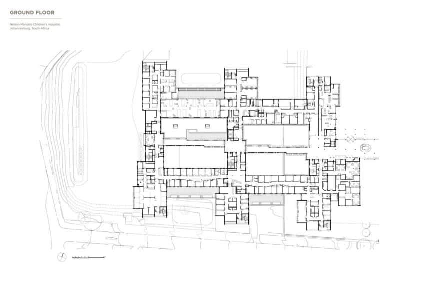 Nelson Mandela Children's Hospital by Four Architectural