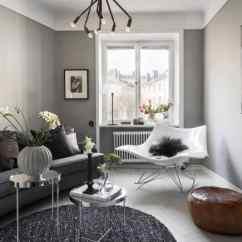 Living Room Furniture For Studio Apartments Design Ideas Rooms Modern A Cozy Grey Scandinavian Apartment