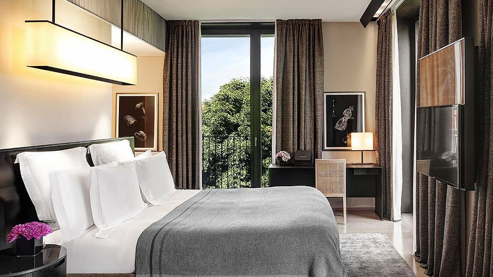 Refined and Elegant Bulgari Hotel in the City of Milan Italy