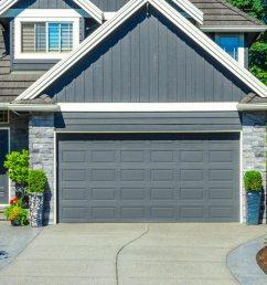 classic aluminum double garage door install door matching color of home [ 1200 x 809 Pixel ]