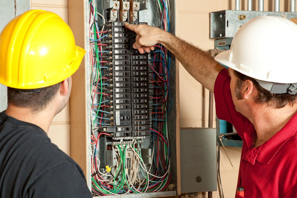 medium resolution of electricians identify a 20 amp circuit breaker that has gone bad and replace it