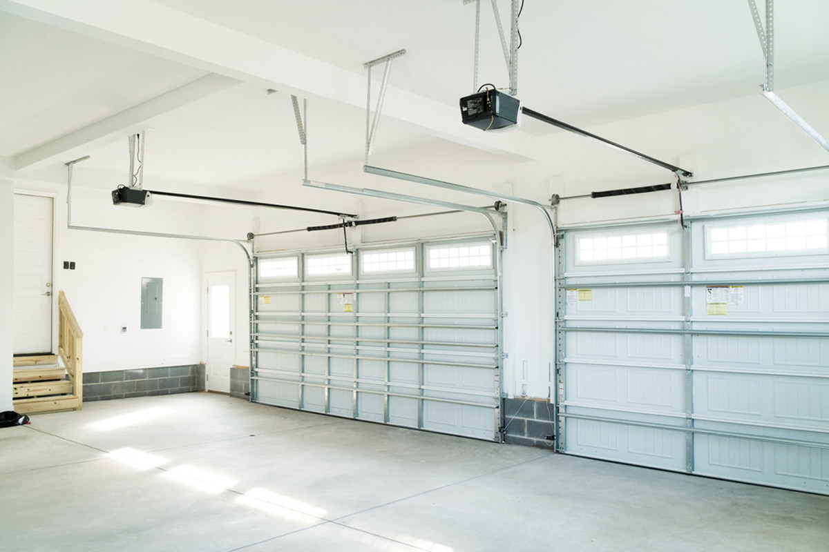 hight resolution of new garage door opener installation three car garage