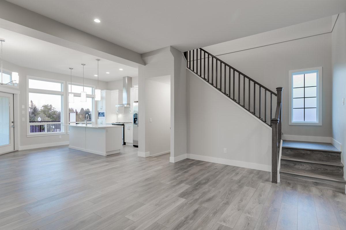 Living Room With Grey Laminate Flooring Novocom Top