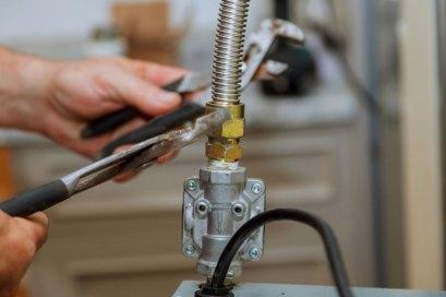 gas line installation