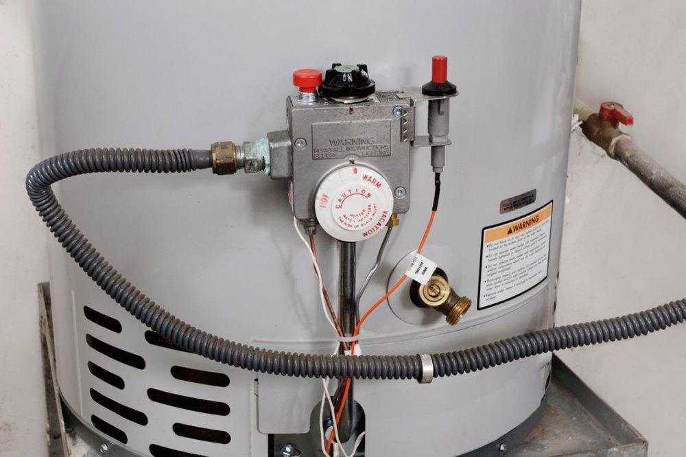 medium resolution of new water heater installation of 50 gallon tank