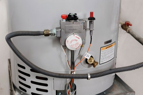 small resolution of new water heater installation of 50 gallon tank