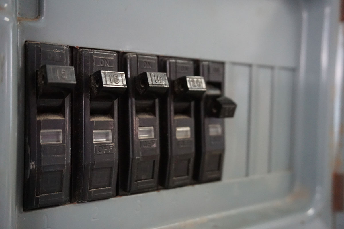 Power Panels In A Home Usually Contain Circuit Breakers But Older