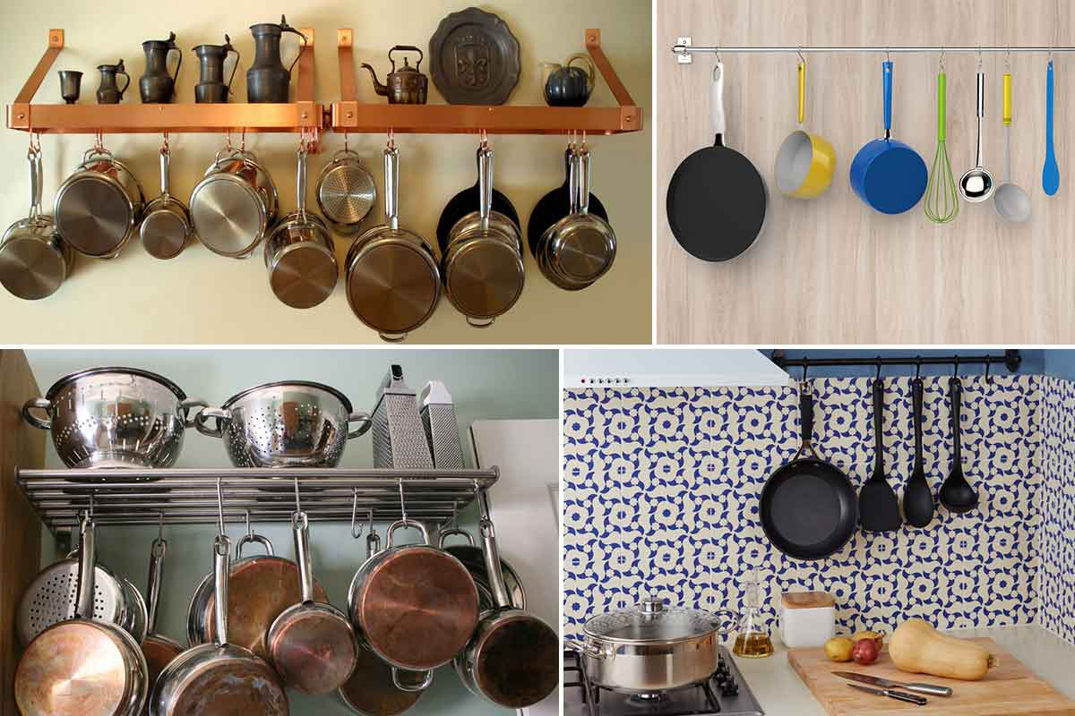 how to arrange pots and pans in kitchen birkenstock shoes 7 tips organize the homeonline
