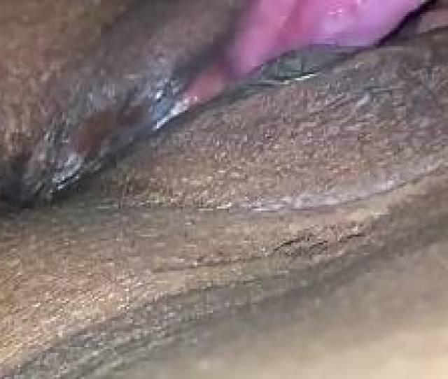 Min I Enjoy Eating Her Creamy Bald Black Cunt On Camera