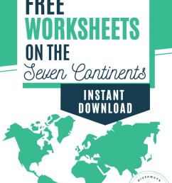 FREE Worksheets on the Seven Continents - Homeschool Giveaways [ 1102 x 735 Pixel ]