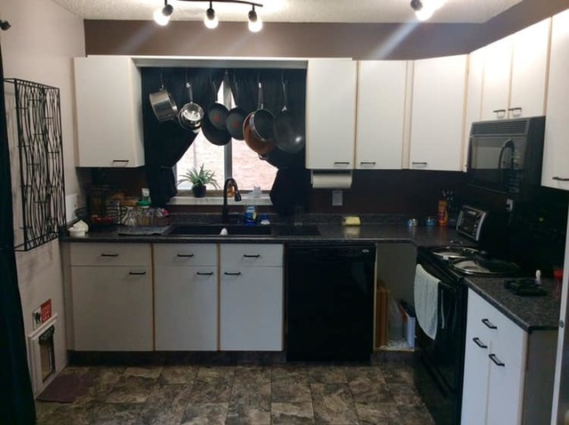 kitchen reface spray paint cabinets magic bathroom design in edmonton 2 days i was back to my new updated highly recommend everyone