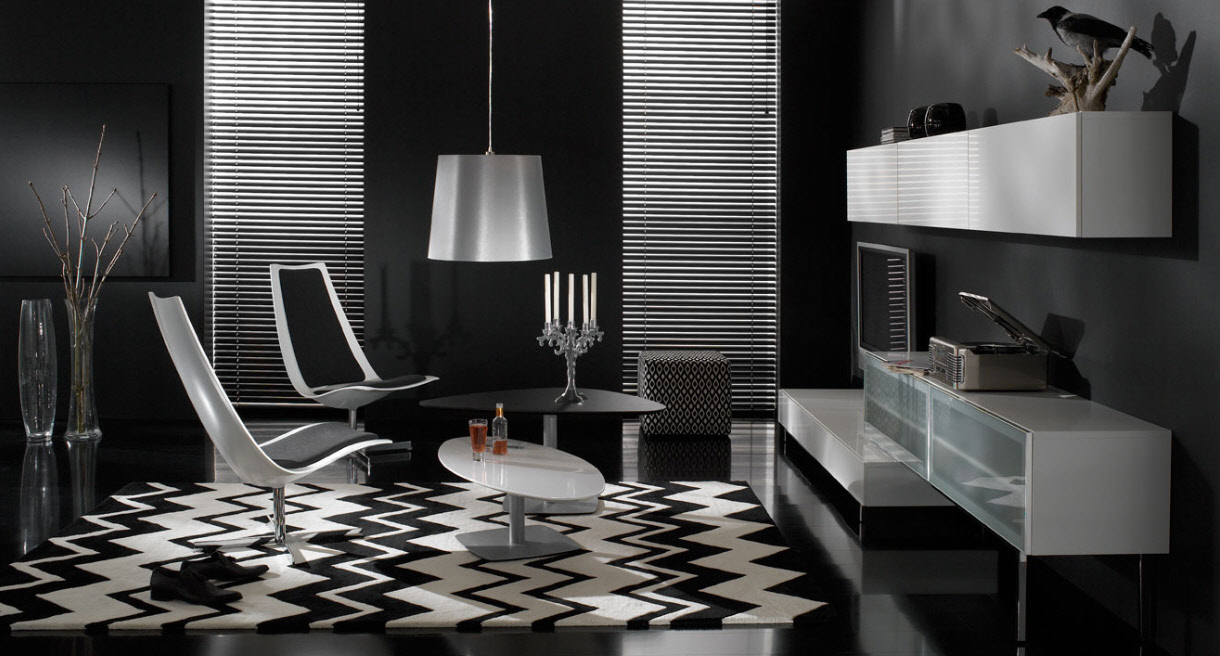 modern interior design living room black and white small beach ideas 17 inspiring wonderful contemporary designs