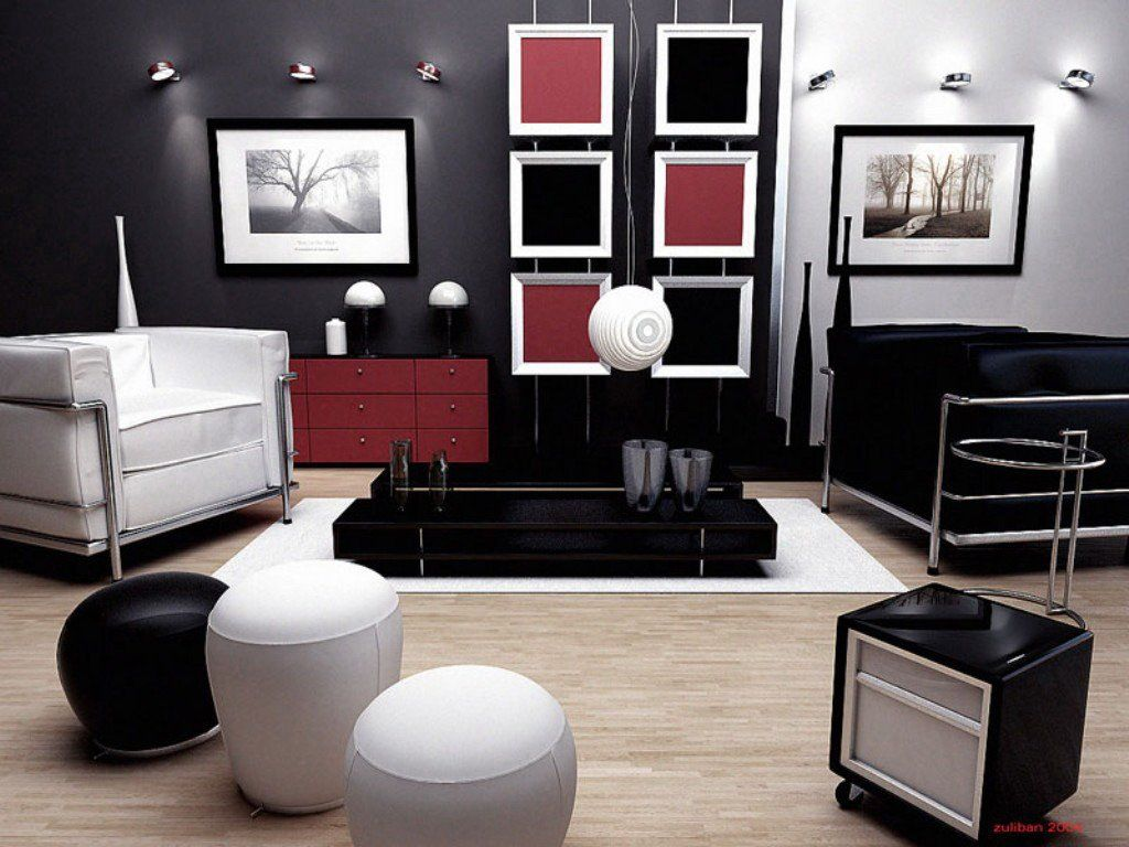 modern interior design living room black and white blue leather sets 17 inspiring wonderful contemporary designs