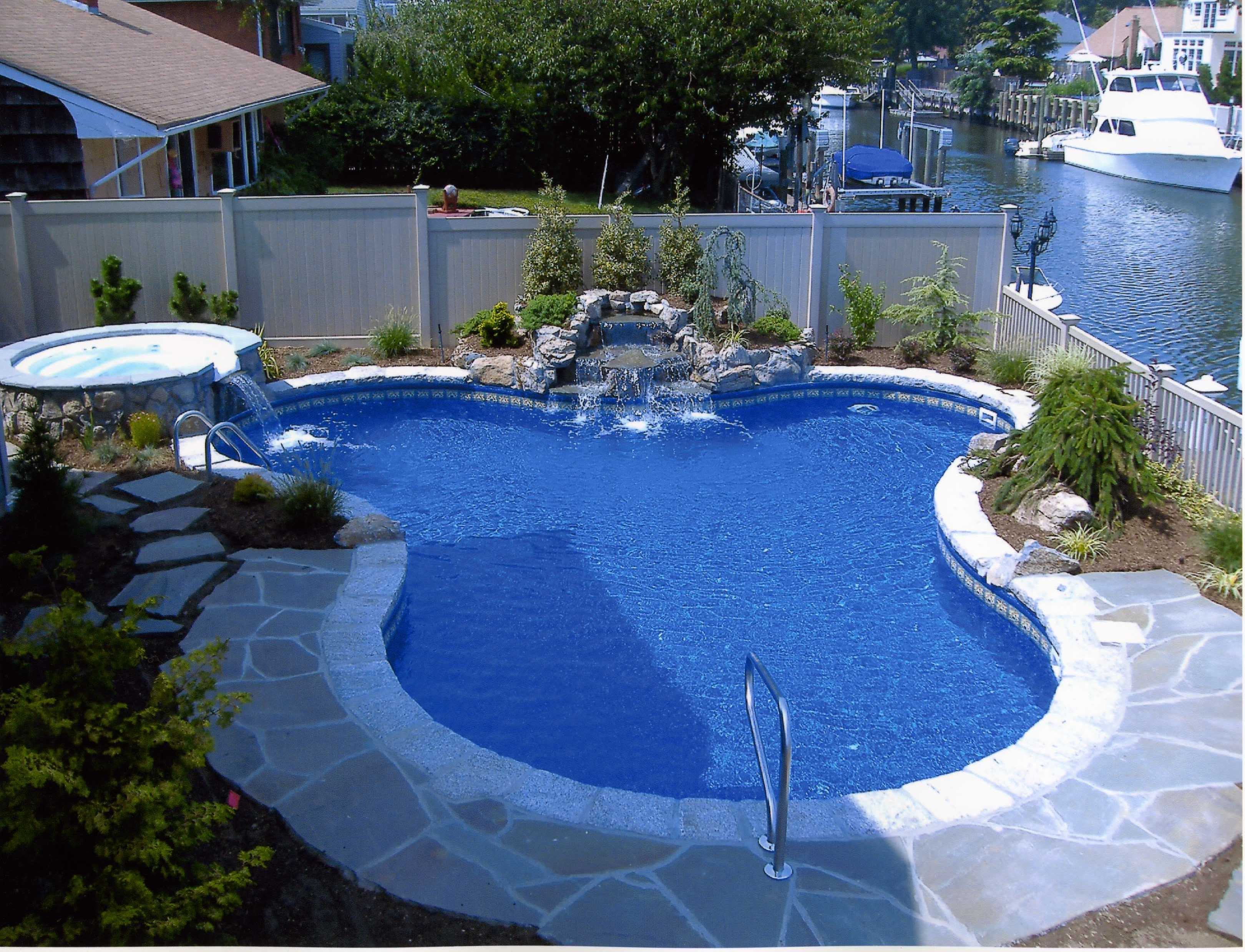Backyard Landscaping IdeasSwimming Pool Design  Homesthetics  Inspiring ideas for your home