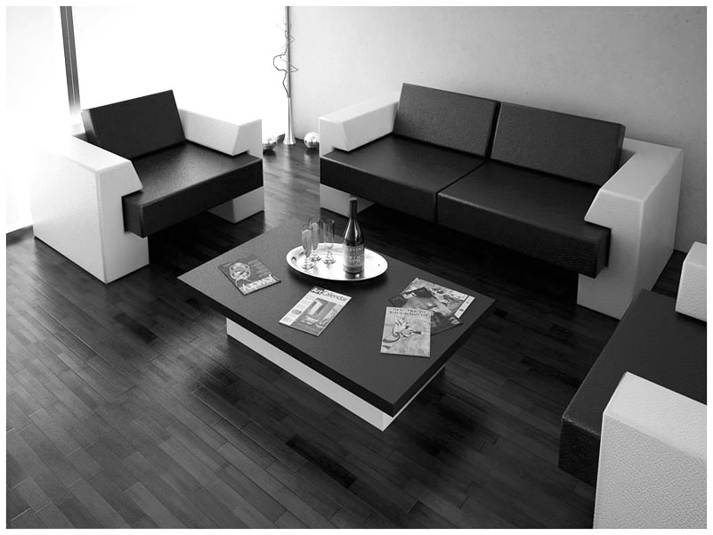 modern interior design living room black and white leather chair set contemporary ideas for your dream furniture in simple space