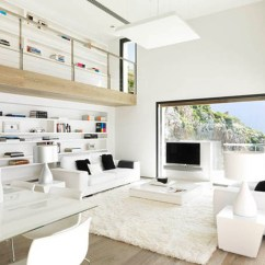 Simple Clean Living Room Design For Small Apartment Black And White Contemporary Interior Ideas Your Dream Open Space Designed In That Enlargens The Perspective