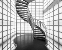 12 One of a Kind Round Staircase Designs For Your Modern ...