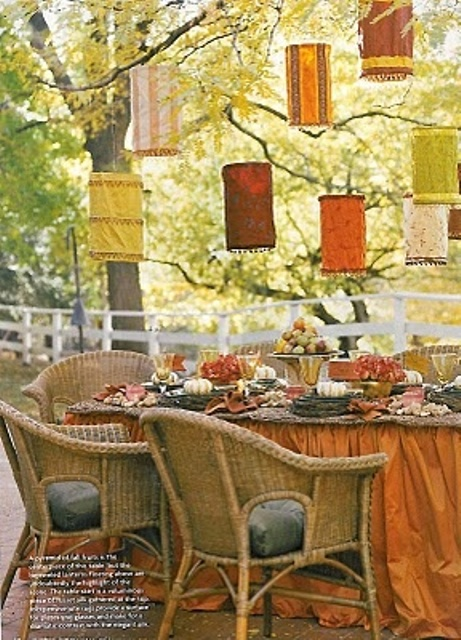 DIY Welcome The Fall With Warm And Cozy Patio Decorating - Patio Ideas