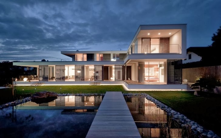 Modern Dream Mansion  Haus SK in Austria designed by Two