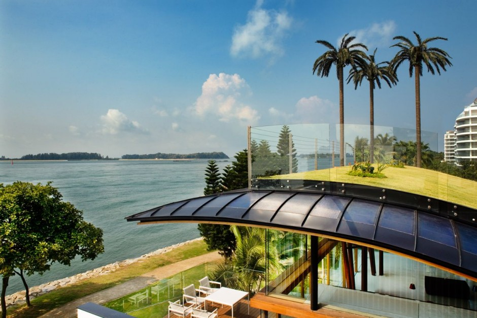 Exotic Modern Mansion In Singaporethe Fish House By Guz