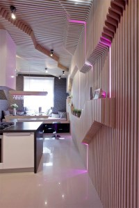 Extravangant Sci-Fi Kitchen Entitled Parametrix in Moscow ...