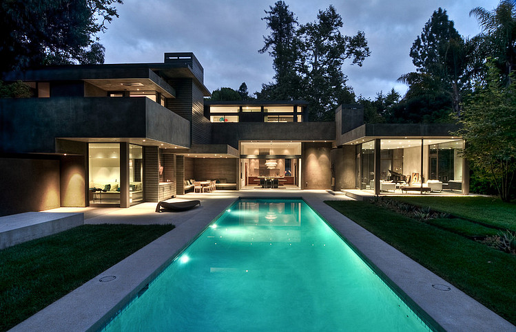 Modern Dream Home Surrounded by Forest  ChuGooding Architects  Homesthetics  Inspiring ideas