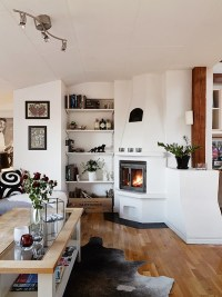 Beautiful Small Attic Apartment in Sweden With