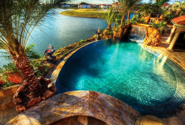 backyard landscaping paradise