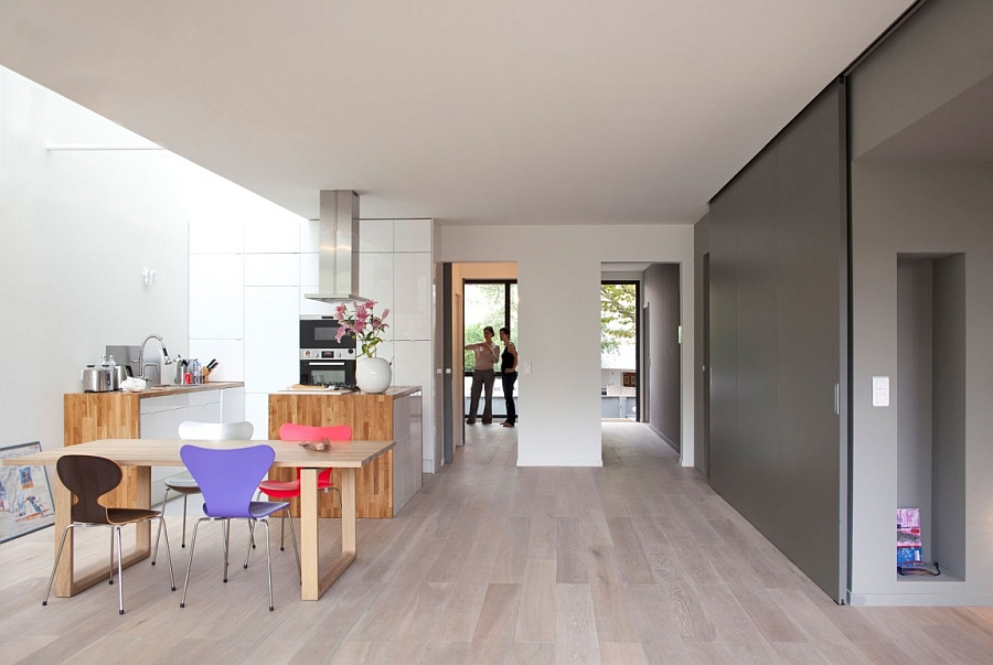 Minimalist EcoSustainable House Charms With a Green