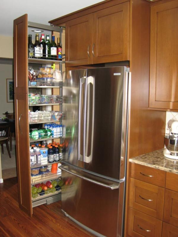 kitchen pantry cabinet cheap backsplash ideas storage that will enhance your space pull out homesthetics