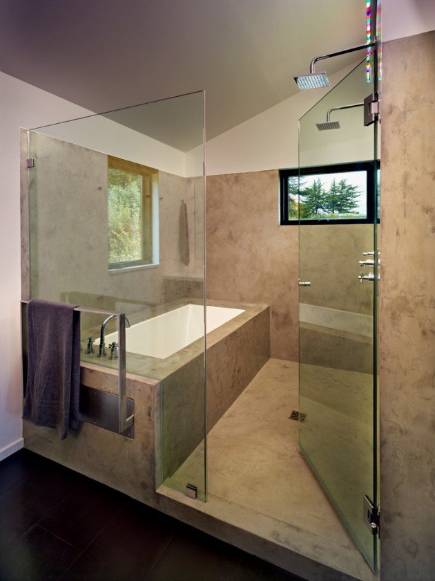 15 Flawless Contemporary Cool Bathroom Designs You