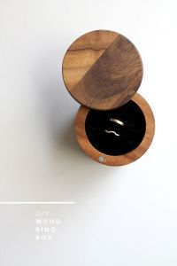 21 DIY Ring Boxes That Will Beautify and Add Romance To a ...