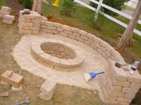DIY Outdoor Fire Pit - Bing images