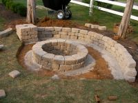 Creatively Luxurious DIY Fire Pit Project Here to Enhance ...