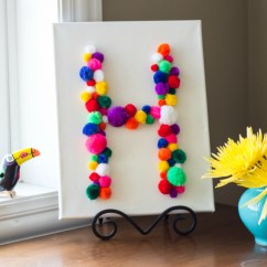 Cute Kitchen Gadgets Cabinet Manufacturers Colorful Diy Pom-pom Crafts And Ideas [video Included]
